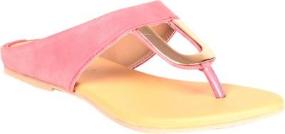 Soft & Sleek U Shape Pink Ballerina Girls Pink Flats