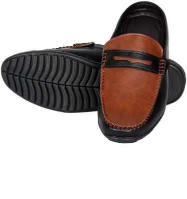 Braavosi Men, Boys Tan, Black Sandals