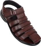 Jutaz Men Brown Sandals