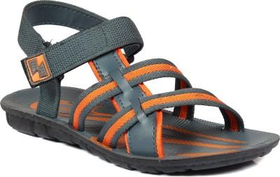 SCATCHITE Men Orange, Grey Sandals
