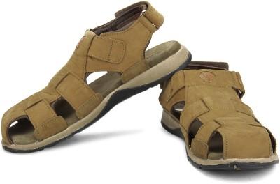 Woodland Men Beige Sports Sandals