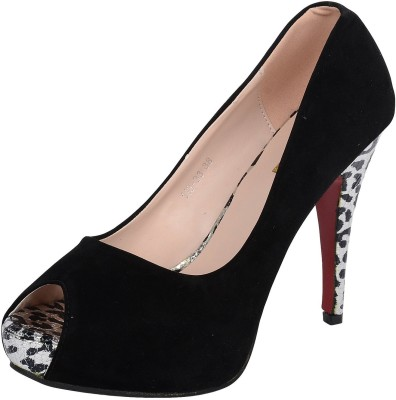 Mucci Mucci Women Black Heels