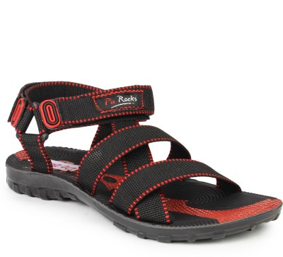 Do Bhai 5130 Men Red Sandals