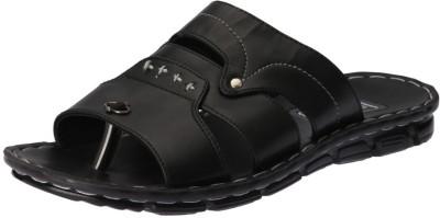 Pu Lite Men Black Flats