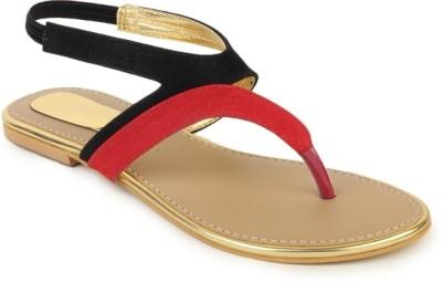 Foot Jewel Women Black Flats