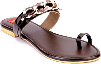 Shibha Footwear Women Brown Flats