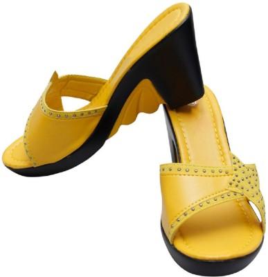 Gadget Women Yellow Wedges