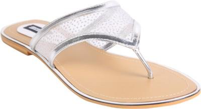 karizma shoes Women Silver Flats