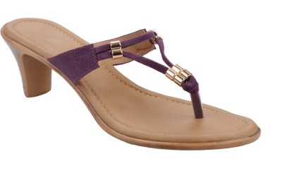 Chicopee Women Purple Heels