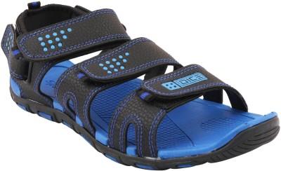 Frestol Men Blue, Black Sports Sandals
