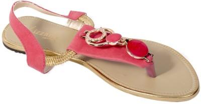 Tatter Angel Women Pink Flats