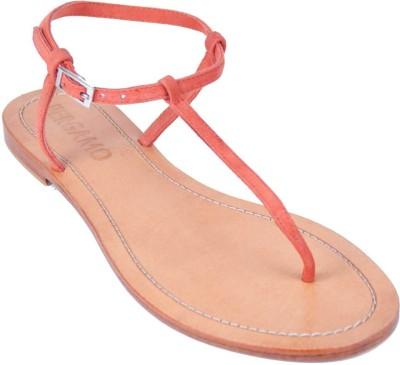 Foonty Women Orange Flats