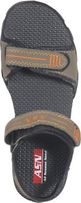 ASN Eplorg Women Orange, Brown Sports Sandals
