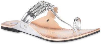Hilly Toe Women Silver Sandals