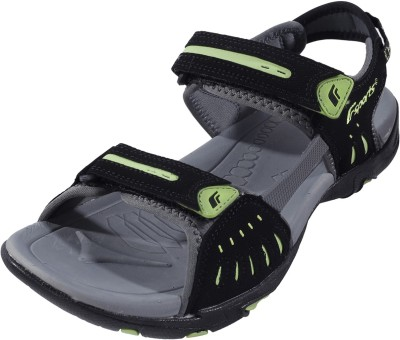 F sports Men Black, Green Sports Sandals