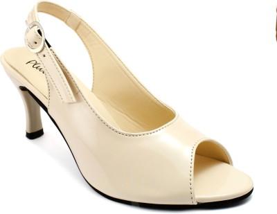 Plutos Women Beige Heels