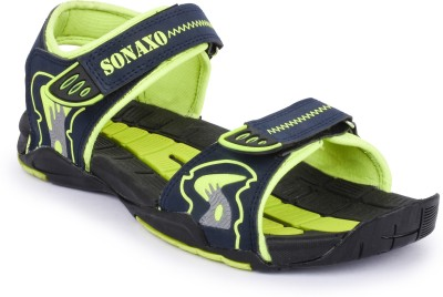 Sonaxo Men Green Sandals