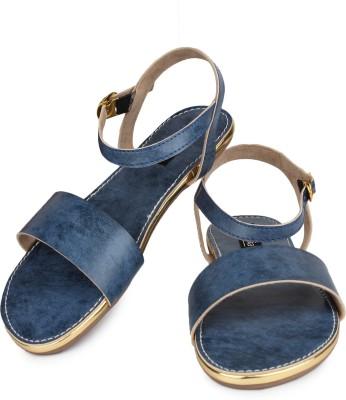 Shoetopia Women Blue Flats