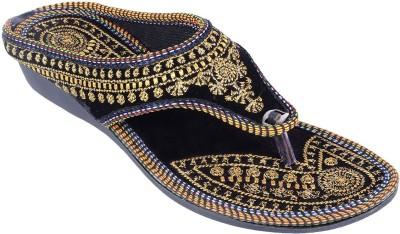 Pinkcity Arts Girls Black Sandals