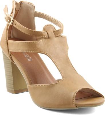Wellworth Women Beige Heels