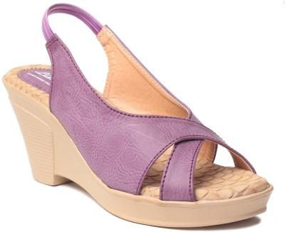 MSC Women Purple Wedges