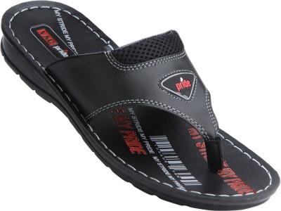 VKC Men Black Sandals