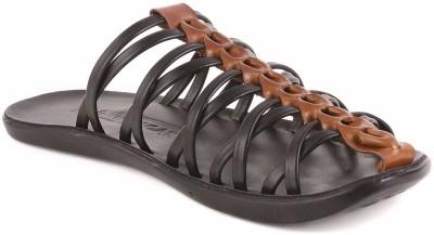 Brown Sugar Men Black Sandals