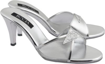 Rocia Women Silver Heels