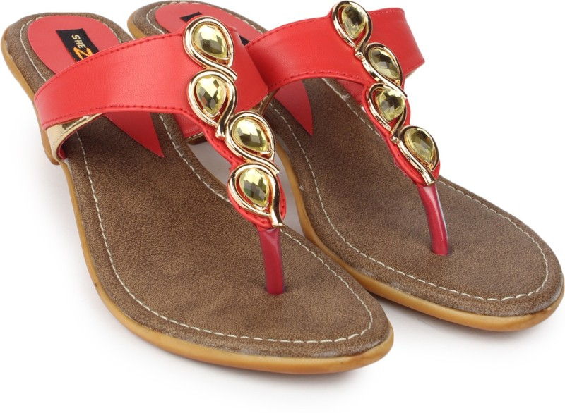 Shezone Women Red Heels