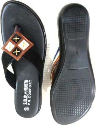 Sbr Health Women Black Flats