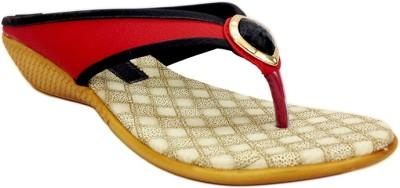Russo Fashion Women Red Flats