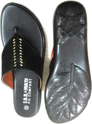 SBR Women Black Flats