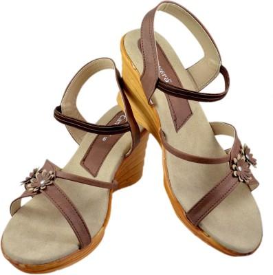 Canvera Women Brown Heels