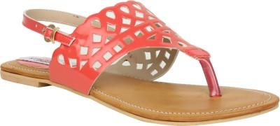 Stylistry Stylistry Red Color Women Flats Sandal Women Red Flats