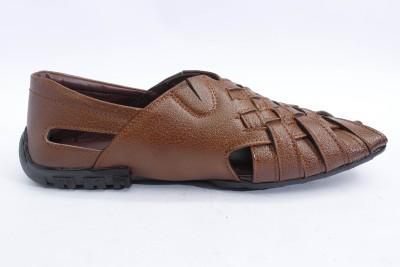 ASHIRWAD Men, Boys Tan Sandals