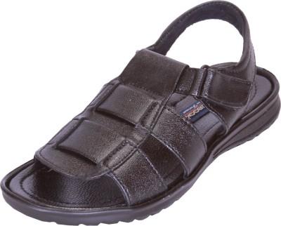 Shoebook Men,S Black Men Black Sandals