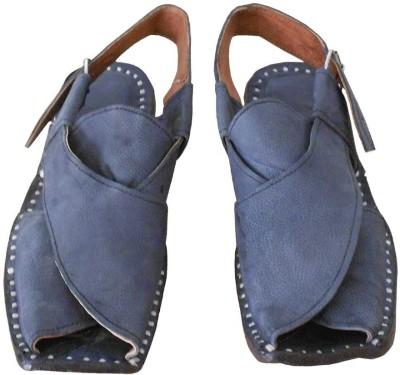 Kalra Creations Men Natural Sandals