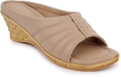 SBF Women Beige Heels