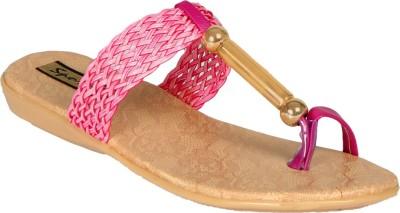 Sporch Women Pink Flats