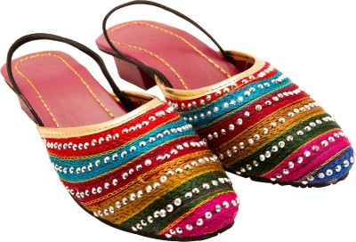 Santosh Art Collection Women Multicolor Heels
