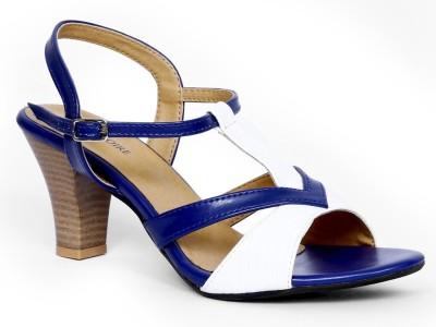 Marc Loire Women Blue Heels
