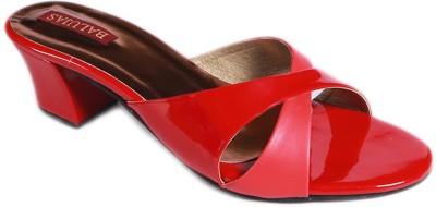 Balujas Women Red Flats