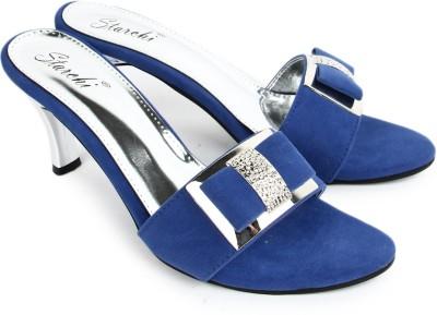 Starchi Women Blue Heels