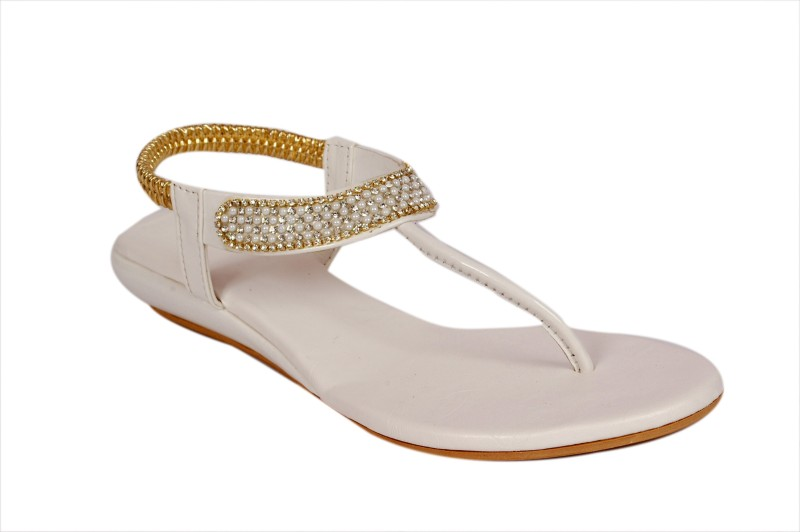 Studio 9 Cruze Women White Flats...