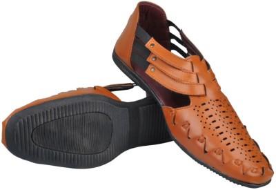 Mocas Men Tan Sandals
