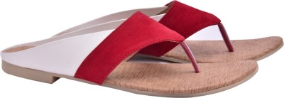 Fentacia Women Red Flats
