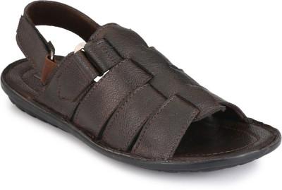 FOOTCHOLIC Men Brown Sandals