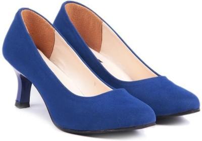 TEN Women Blue Heels