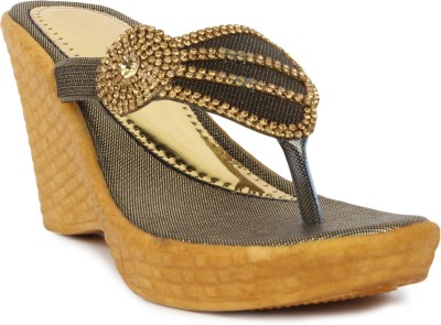 Star Style Women Brown Wedges