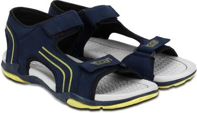Cozy Men Blue, Yellow Sandals